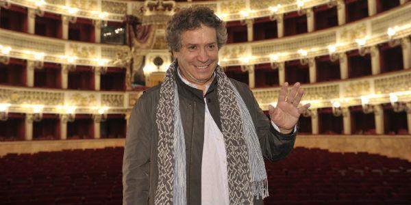 Franco Dragone, regista dell'Aida al Teatro San Carlo