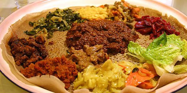 injera tipico piatto etiope