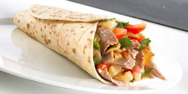 tipico piatto di kebab