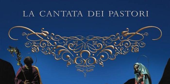 locandina modificata della cantata dei pastori al teatro trianon di napoli