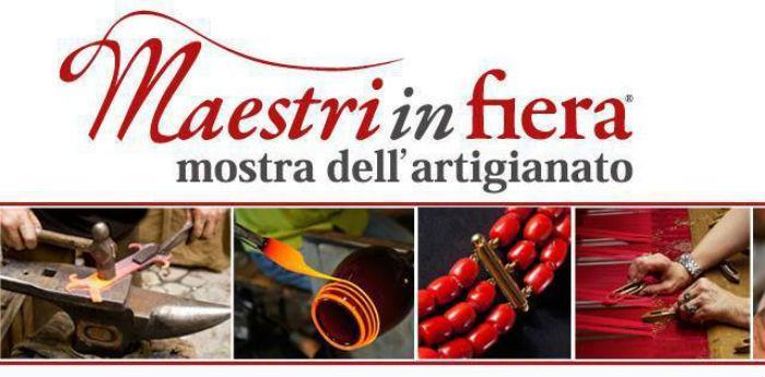Locandina dell'evento Masetri in Fiera, mostra dell'artigianato