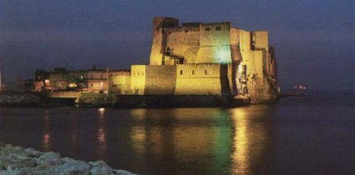 Castel dell'Ovo a Napoli, allestito un Presepe Vivente