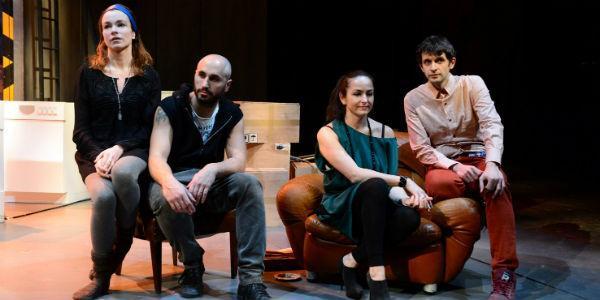 Cast dello spettacolo Ricorda con rabbia al Teatro Bellini di Napoli