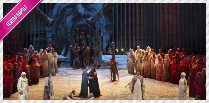 L'Aida di Verdi in scena al Teatro San Carlo di Napoli