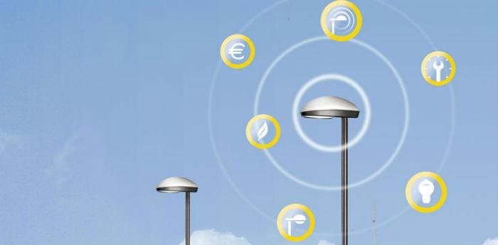 immagine descrittiva del sistema smart poles per la fornitura di servizi wifi tramite l'illuminazione pubblica
