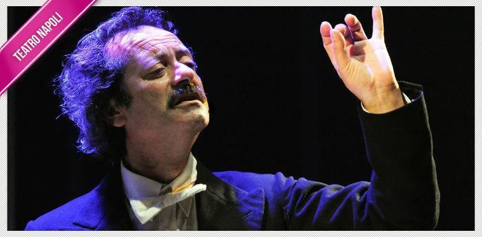 Rocco Papaleo nello spettacolo Una piccola impresa meridionale al Teatro Diana di Napoli