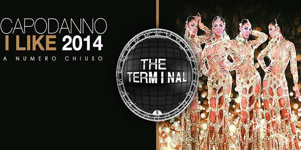 locandina per il capodanno 2014 alla discoteca the terminal