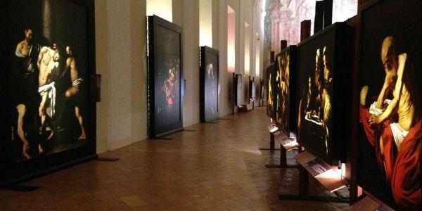 Opere in esposizione per Una mostra impossibile a San Domenico Maggiore di Napoli