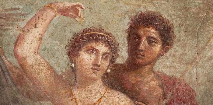Pittura Pompeiana nel Museo Archeologico Nazionale di Napoli