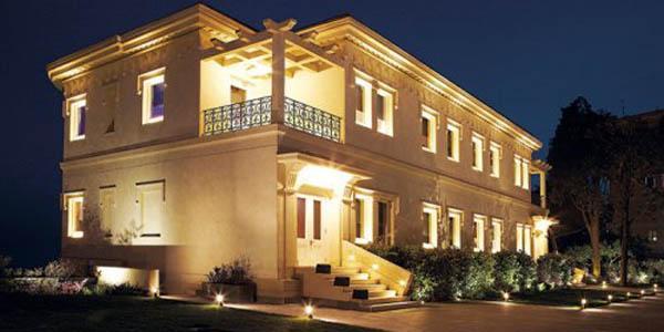 la villa diamante di napoli che ospiterà l'evento natalizio la Villa dei Balocchi