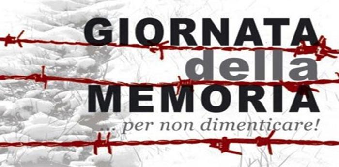 manifesto per la giornata della memoria in ricordo delle vittime del nazismo