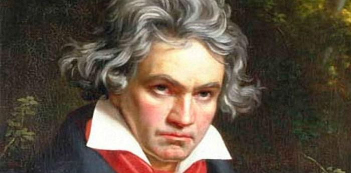 Ritratto del musicista Ludwig van Beethoven Palazzo Venezia Napoli