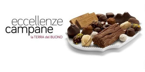 Locandina del punto vendita e ristoro Eccellenze Campane in via Brin a Napoli