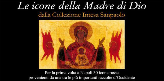 locandina della mostra le icone della madre di dio al museo diocesano di napoli