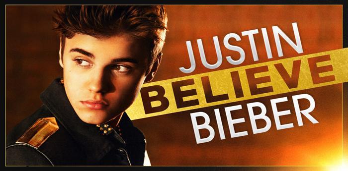 locandina del film Believe su Justin Bieber