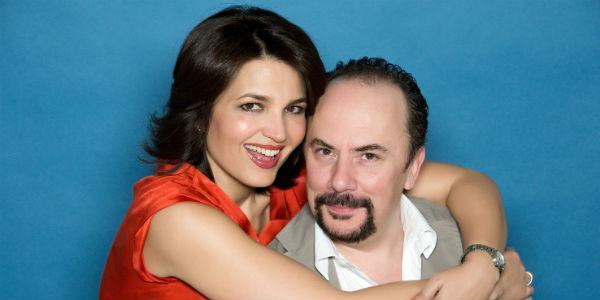 Maurizio Casagrande e Tosca D'Aquino al Teatro Diana Il prigioniero della seconda strada