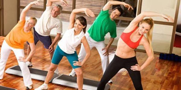 sala fitness della palestra body fitness