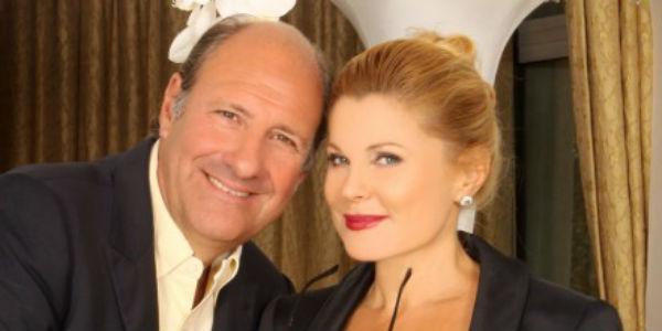 Stefano Masciarelli e Patrizia Pellegrino nello spettacolo Qualcuno è perfetto al Teatro Cilea