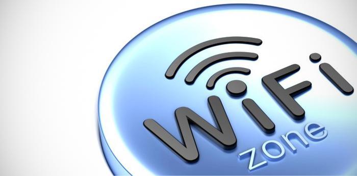 logo di una zona wi-fi