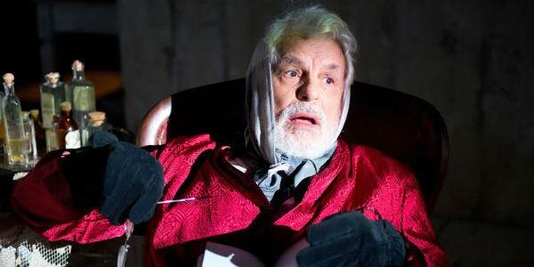 Michele Placido nello spettacolo Zio Vanja al TEatro Bellini di Napoli