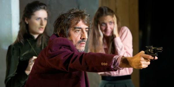 Sergio Rubini nello spettacolo Zio Vanja al Teatro Bellini di Napoli