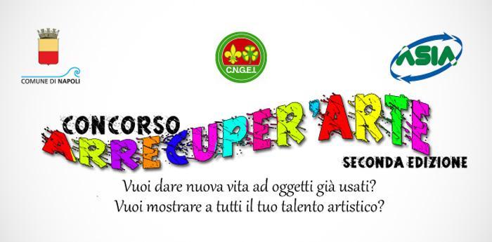 locandina del concorso Arrecuper'arte del comune di napoli