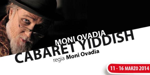 Locandina dello spettacolo Cabaret Yiddish al Teatro Nuovo di Napoli