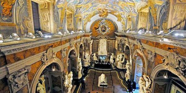 Interno della Cappella Sansevero a Napoli