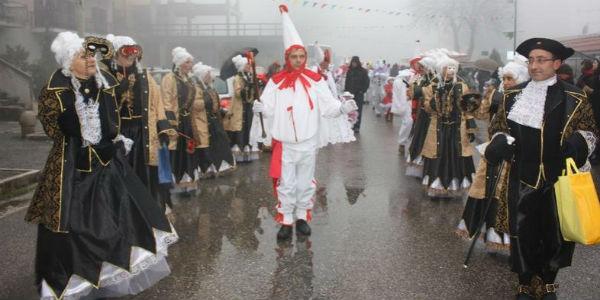 Carri allegorici e sfilate del Carnevale di Montemarano