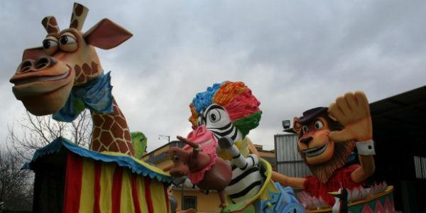 Carri allegorici del Carnevale di Saviano