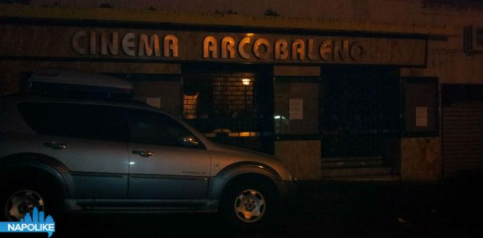 Foto del cinema Arcobaleno al Vomero chiuso