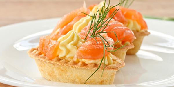 crostate mousse salmone