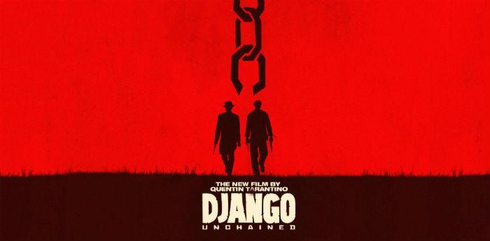 Plakat von Quentin Tarantinos Film Django Unchained