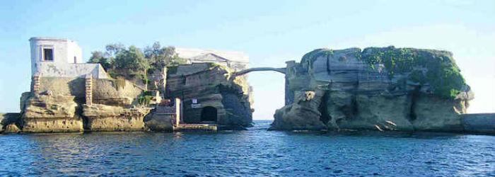 Foto del parco Sommerso della Gaiola a Napoli