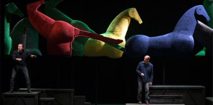 """Stefano Accorsi e Marco Baliani in scena al Teatro Nuovo con """"Giocando con Orlando"""""""