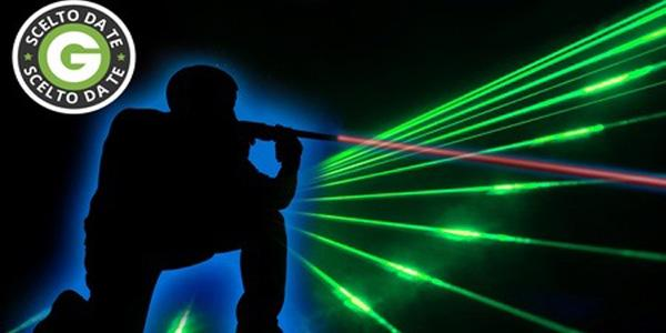 coupon per una partita a laser game