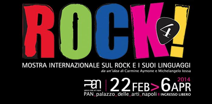 афиша рок-выставки 4 в Пан-ди-Наполи