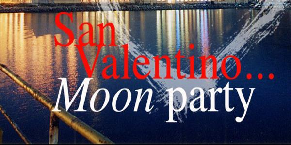 locandina di moon party a città della scienza
