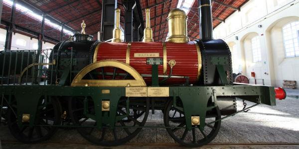 Locomotiva Museo Ferroviario di Pietrarsa