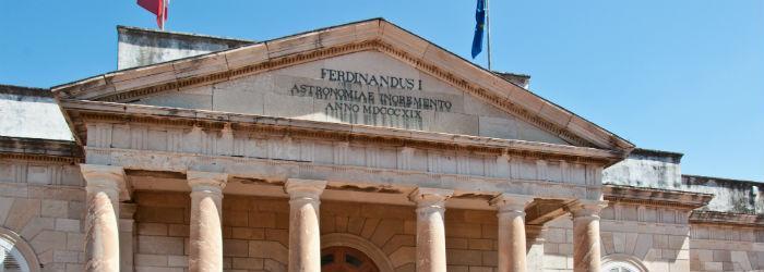 Immagine dell'Osservatorio Astronomico di Capodimonte a Napoli