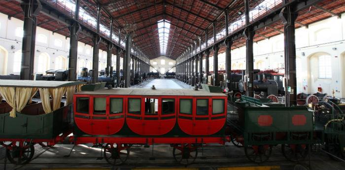 Foto della Ferrovia di Pietrarsa a Napoli