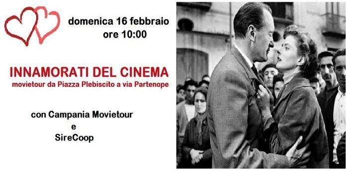 Locandina dell'evento di campania Movietour per San Valentino a Napoli