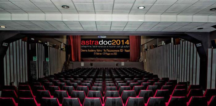 Locandina dell'evento AstraDoc 2014 al Cinema Astra di Napoli