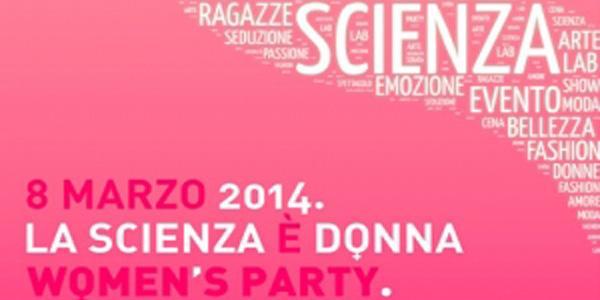 locandina per la festa della donna a città della scienza 2014