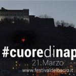 Il #Cuoredinapoli a Sant'Elmo realizzato per il Festival del Bacio 2014