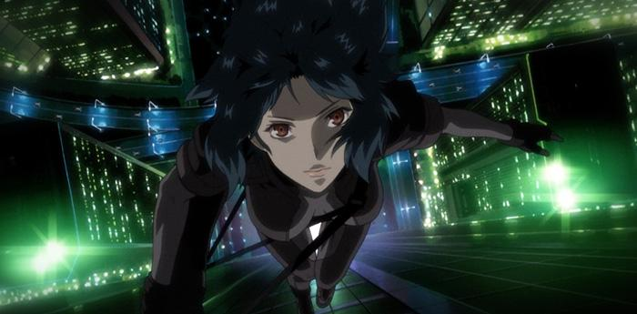 scena dell'anime ghost in the shell