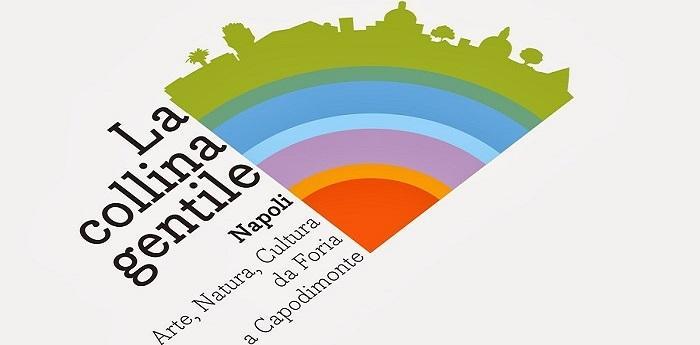 Locandina della kermesse La Collina Gentile a Napoli