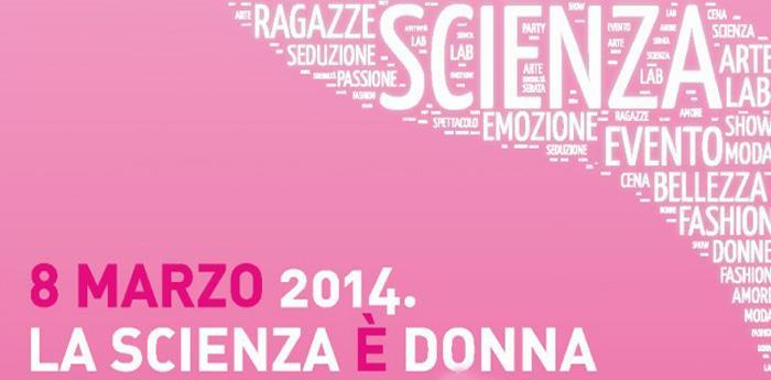 locandina per la festa della donna a città della scienza
