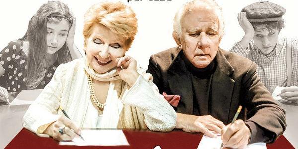 Locandina dello spettacolo Lettere d'amore al Teatro Troisi di Napoli
