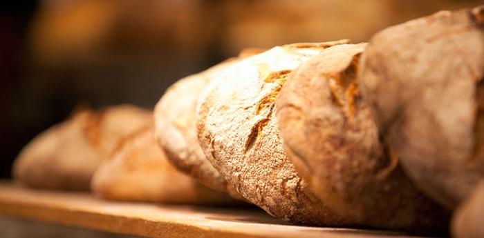 morceaux de pain